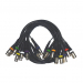 Click to see a larger image of 8 Way Balanced Multicore Male to Female XLR Loom 10m