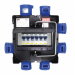 Click to see a larger image of PCE IMST 9030331 Power Distribution Box - 32A 1ph In to 6x16A Out (Distro)